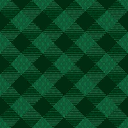 Diagonal tartan inspired vector seamless pattern background 2   イラスト・ベクター素材