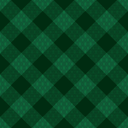 Diagonal tartan inspired vector seamless pattern background 2   イラスト・ベクター素材