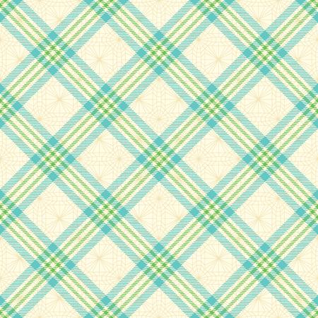 Diagonal tartan inspired vector seamless pattern background 1