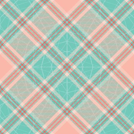 Pastel tartan inspired vector seamless pattern background 1