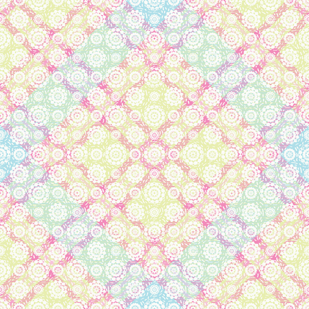 Abstract plaid pastel vector seamless pattern background 1
