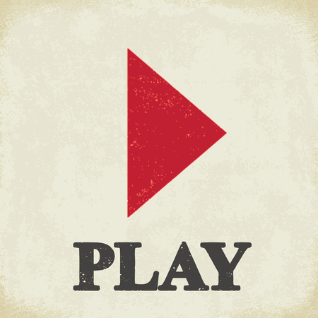 Play sign - conceptual vector illustration 2