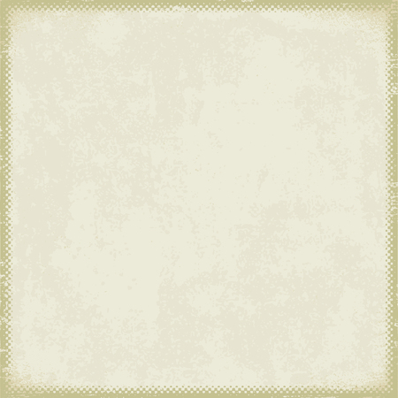 Vintage paper with grunge halftone frame 4