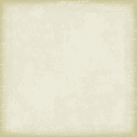 Vintage paper with grunge halftone frame 1