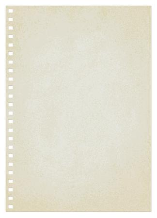 Vintage paper sheet vector background 1