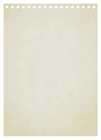 Vintage paper sheet vector background 2  Ilustrace