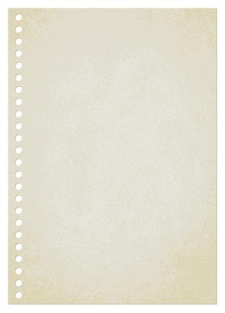 Vintage paper sheet vector background 3