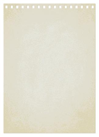 Vintage paper sheet vector background 4  Ilustrace