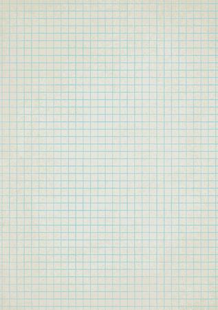 Vintage squared paper sheet vector background 2
