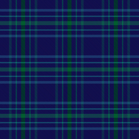 Blue and green plaid tartan seamless pattern background 2