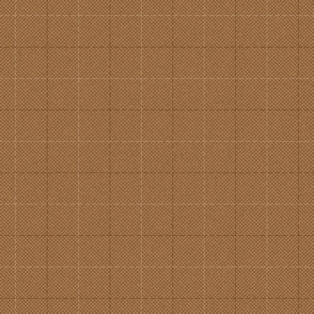 Brown stitched fabric texture vector background