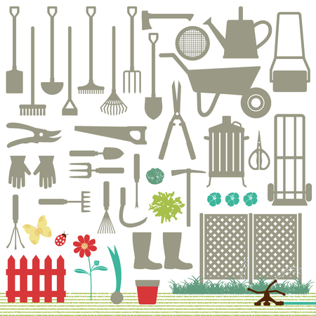 Gartenbezogene Symbole 6