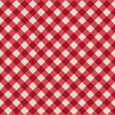 Plaid tablecloth 5 Иллюстрация