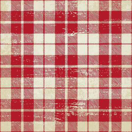 Tartan inspired vintage vector background 2