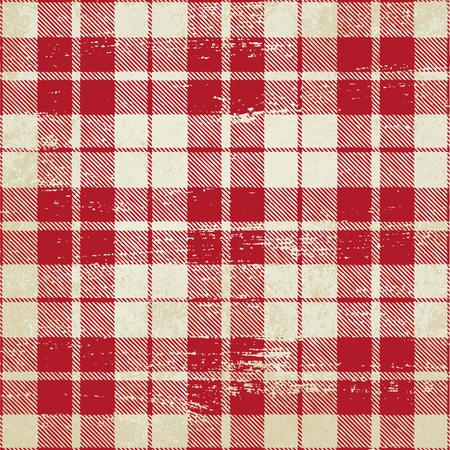 Tartan inspirierte Vintage Vektor Hintergrund 2