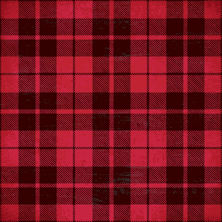 Tartan inspired vintage vector background 4