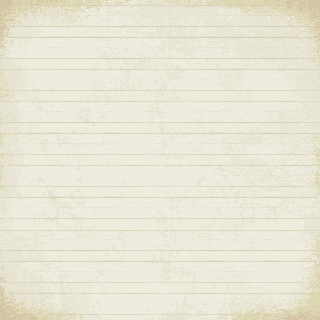 Vintage lined paper vector background 일러스트