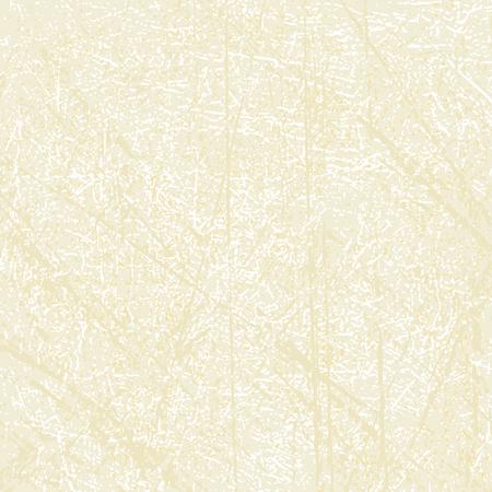 Scratched abstract vector background in beige color.   Illusztráció