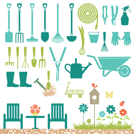 Various garden related icons.