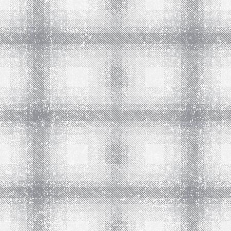 Gray grunge checkered plaid tartan pattern background 1