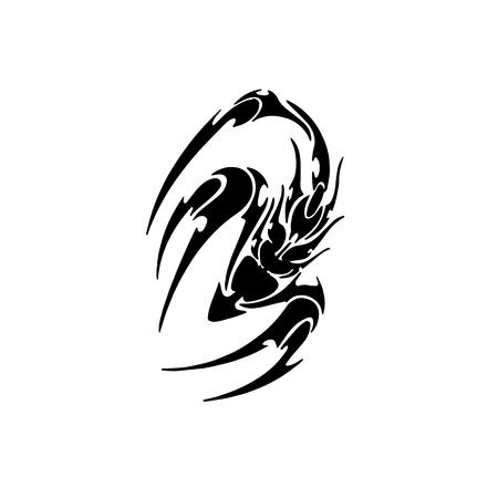 전갈 문신 디자인
