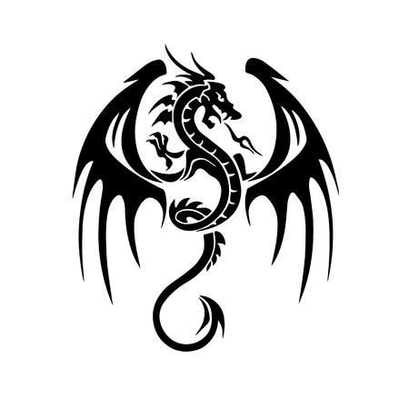와이번 문신 디자인
