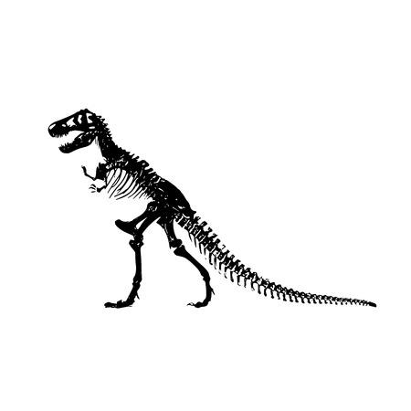 tyrannosaur: Tyrannosaur tattoo design Illustration