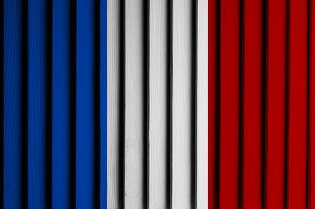 patriots: material art flag backgound Stock Photo