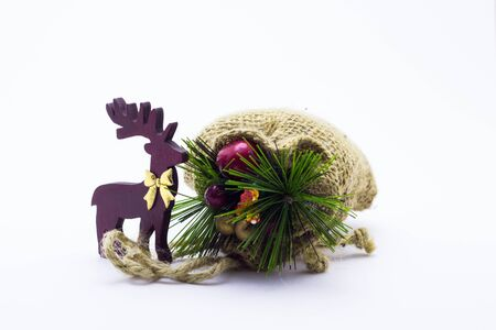 Deer and New Year's bag