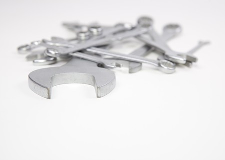 flad: A Couple of Wrenches Stock Photo