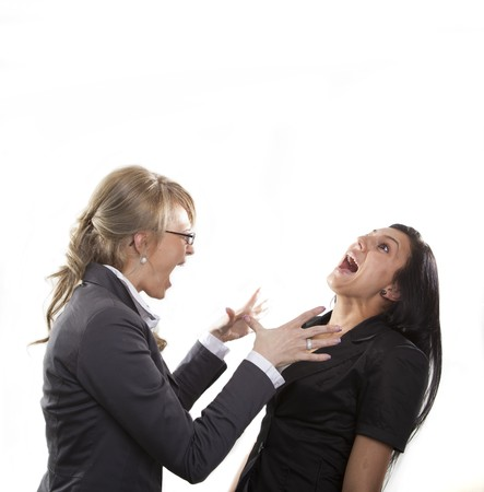 malcontent: Angry Business Woman