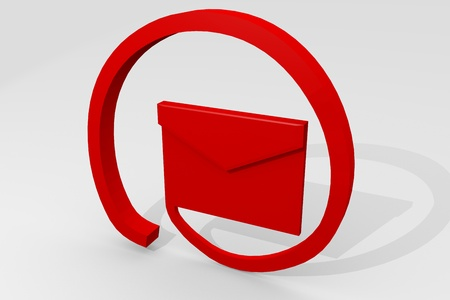 Letter like the email alias Stock Photo - 8377314
