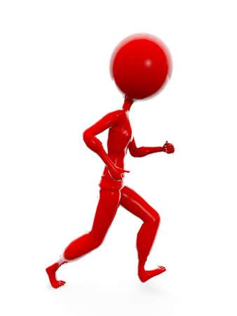 Run Red Run Stock Photo - 8604316