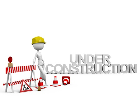 Under Construction Stock Photo - 8604326