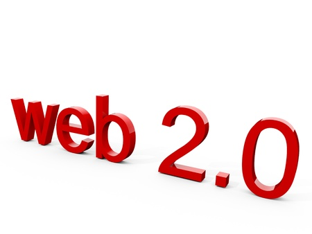 Web 2.0 Stock Photo - 8604322