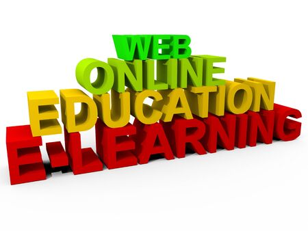 virtual classroom: Online Learning Concept