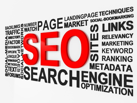 Search Engine Optimization SEO Stock Photo - 9548473