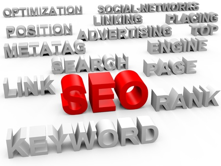 Search Engine Optimization SEO Stock Photo - 9867533