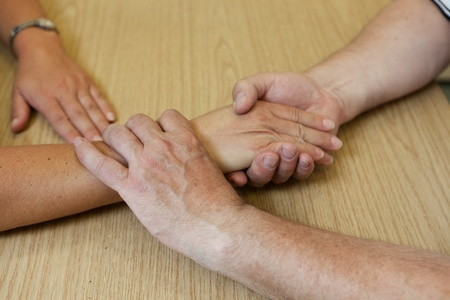 Hand occupational therapy photo