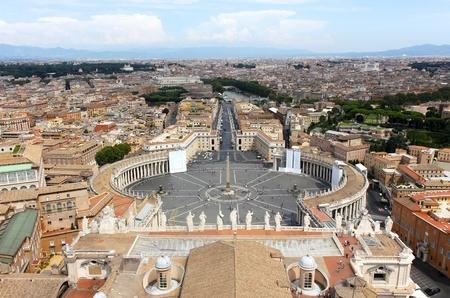 Piazza San Pietro (San Peter Square), Vatican City