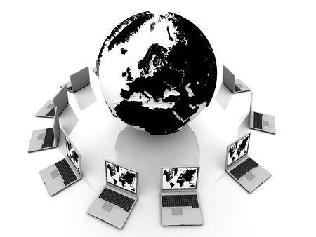 World Wide mobile communication Stock Photo - 11190560
