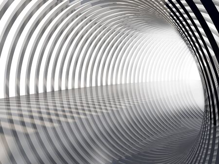 light at the end of the tunnel: Silver Tunnel with light on the end