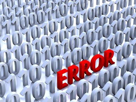 Error Stock Photo - 11733138