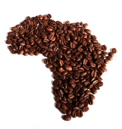 Africa a nation made of coffee photo