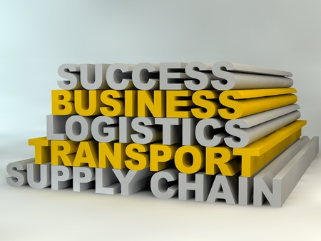Supply Chain Management leads to business success Stock Photo - 13291007