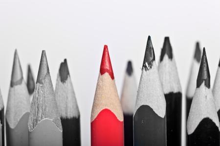 rectify: Red Pen spiccano, su sfondo bianco