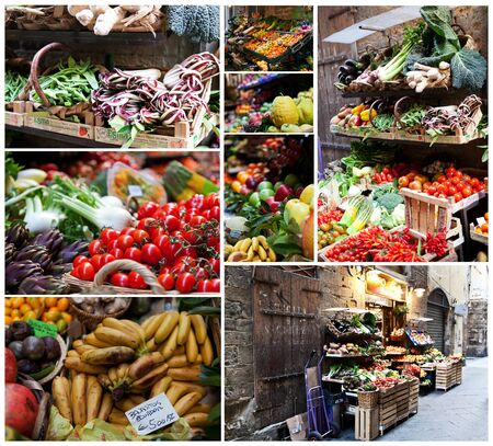Fruits and Vegetables outside of a store in italy Stock Photo - 14523800