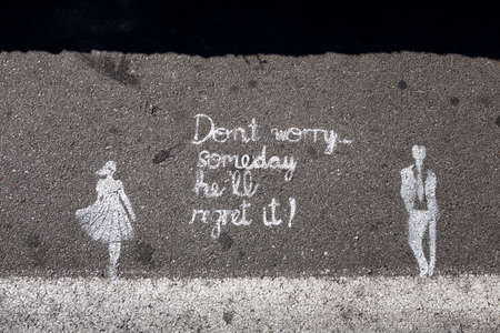 dont: dont worry some day he Editorial
