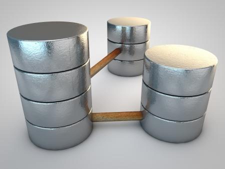 Symbolic silver Database photo