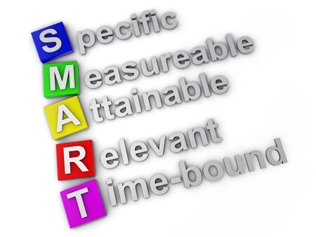 Smart specific measureable attainable relevant time-bound